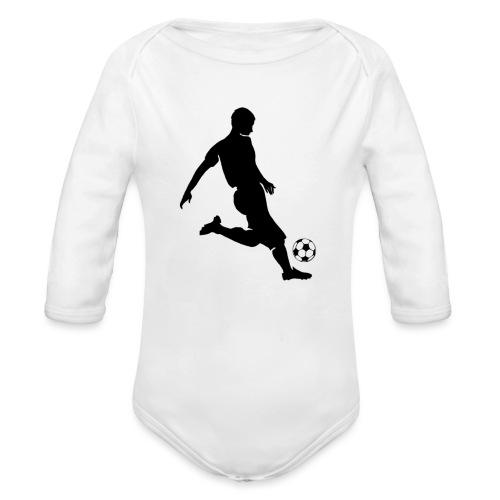 Calcio - Body ecologico per neonato a manica lunga