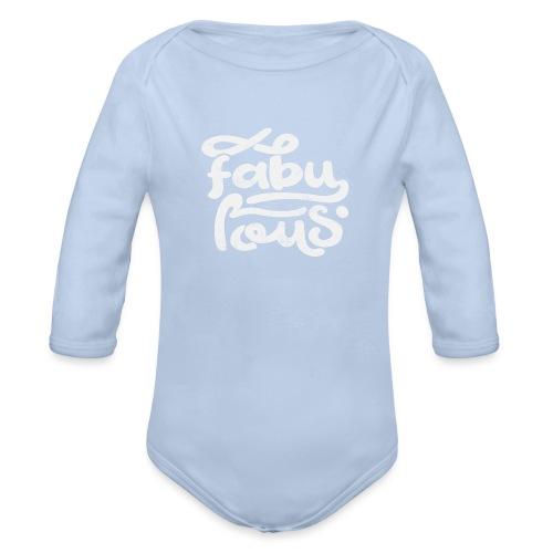 Fabulous - Ekologisk långärmad babybody