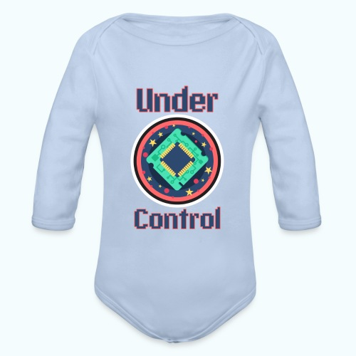 Under control - Organic Longsleeve Baby Bodysuit