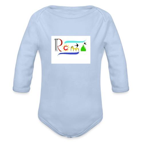 Roma1 - Body ecologico per neonato a manica lunga