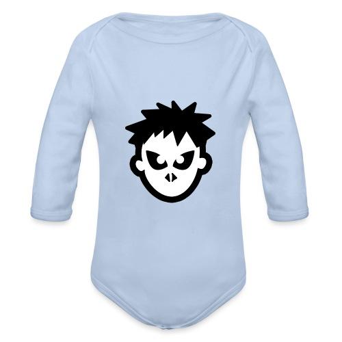 Sorskoot Head - Organic Longsleeve Baby Bodysuit