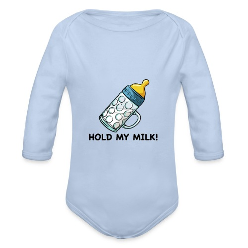 Hold My Milk - Baby Bio-Langarm-Body