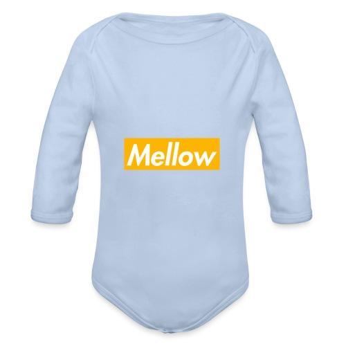 Mellow Orange - Organic Longsleeve Baby Bodysuit