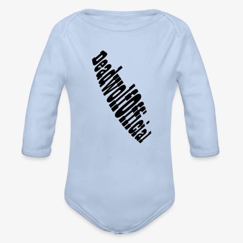 DeadwolfOfficial Original Phone Cases - Organic Longsleeve Baby Bodysuit