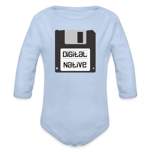 Digital Native - Baby Bio-Langarm-Body