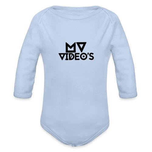 mwvideos spullen - Baby bio-rompertje met lange mouwen