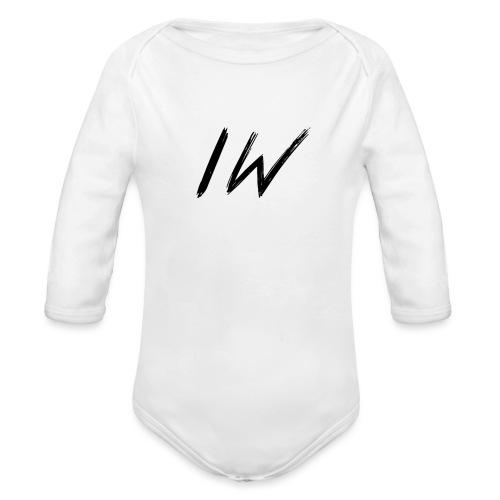 ItzWout KleinLogo 6-14Jaar - Baby bio-rompertje met lange mouwen