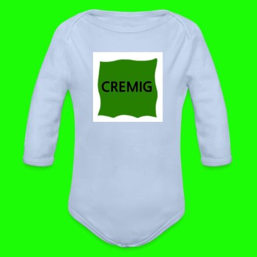 Cremig - Baby Bio-Langarm-Body