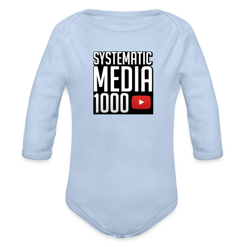 Limited 1000 Subscriber Phone Case - Organic Longsleeve Baby Bodysuit