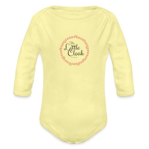Little Clock - Body ecologico per neonato a manica lunga
