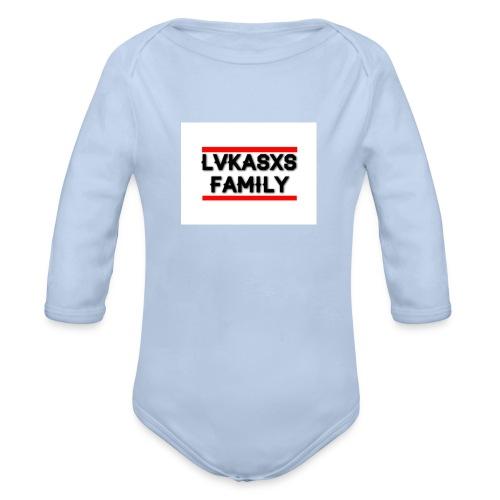 LvkasxsFamily - Baby Bio-Langarm-Body