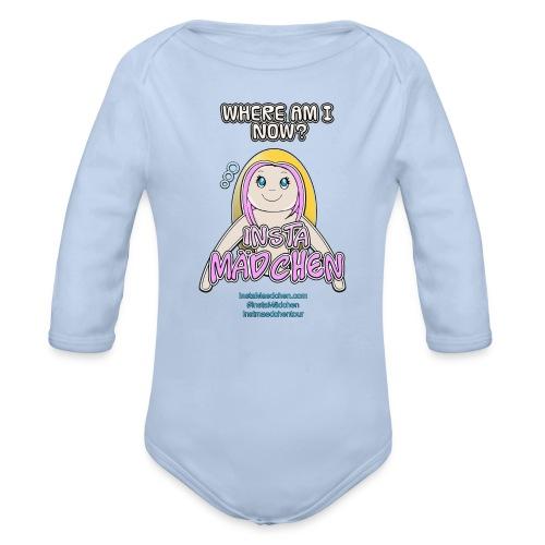 InstaMädchen Shirt - Organic Longsleeve Baby Bodysuit