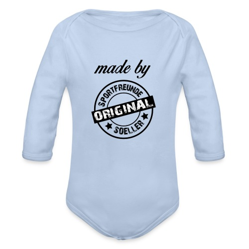 Made by Sportfreunde - Baby Bio-Langarm-Body