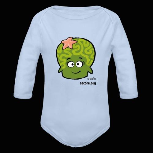 Samy Smart - Organic Longsleeve Baby Bodysuit