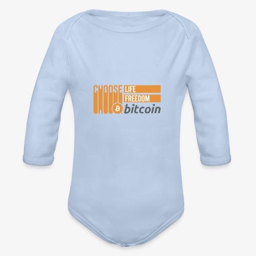Bitcoin - Body Bébé bio manches longues
