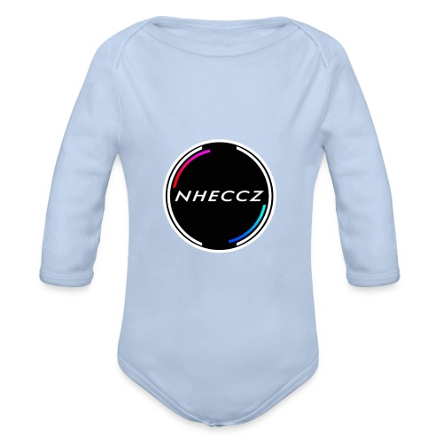 NHECCZ Logo Collection - Organic Longsleeve Baby Bodysuit