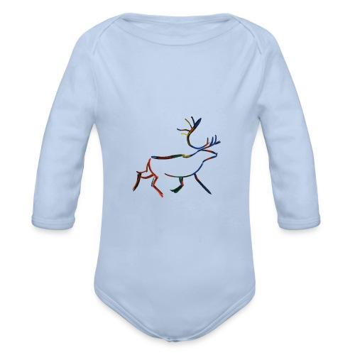 Rein - Økologisk langermet baby-body