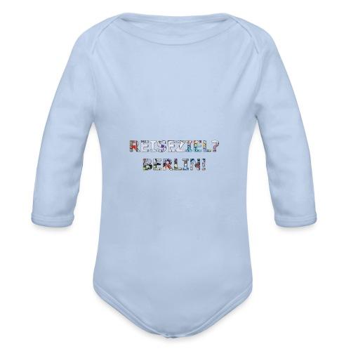 Reiseziel? Berlin! - Baby Bio-Langarm-Body