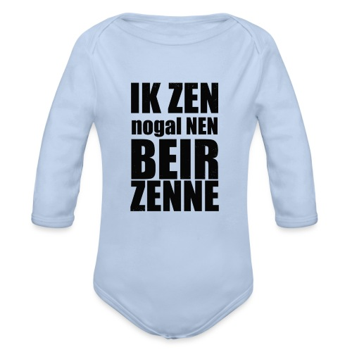 Beir - Baby bio-rompertje met lange mouwen