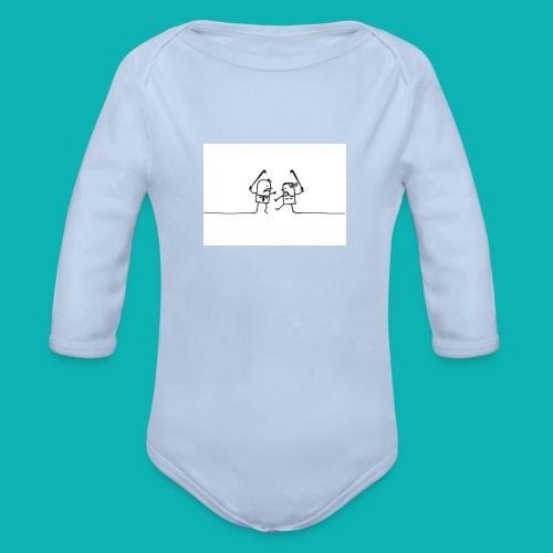 HOCKEY MIXTO - Body orgánico de manga larga para bebé