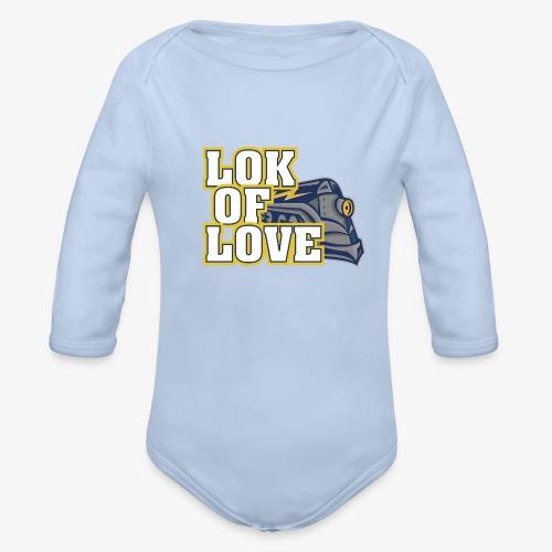 LOK OF LOVE 1 - Baby Bio-Langarm-Body