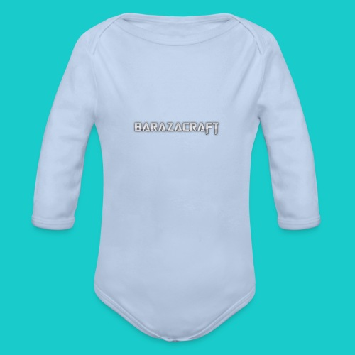 barazacraft pic - Organic Longsleeve Baby Bodysuit