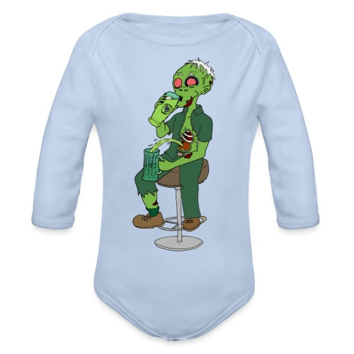 St. Patrick - Organic Longsleeve Baby Bodysuit