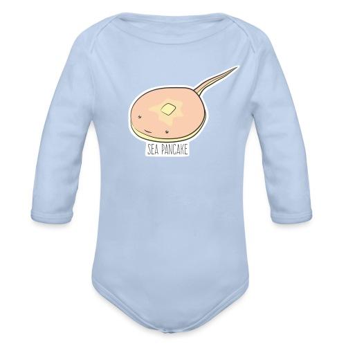 Sea Pancake - Baby Bio-Langarm-Body
