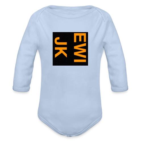 Ewijk - Baby bio-rompertje met lange mouwen