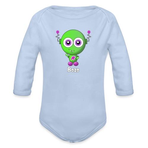 Bozo - Baby bio-rompertje met lange mouwen