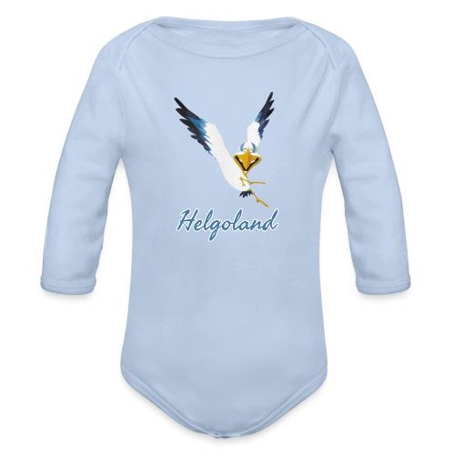 Lachmöwe Helgoland - Baby Bio-Langarm-Body