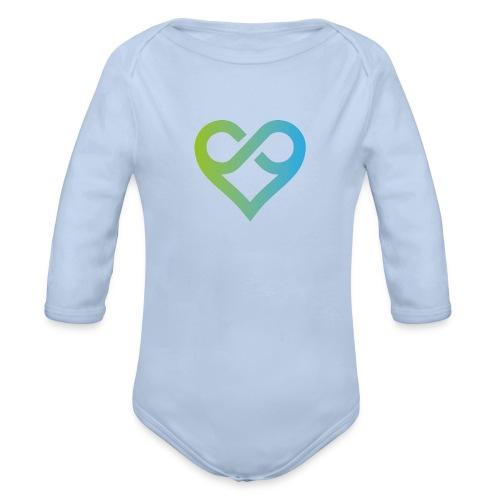 Michael J. Roads Logo - Organic Longsleeve Baby Bodysuit