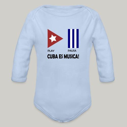 Cuba es musica - Baby Bio-Langarm-Body