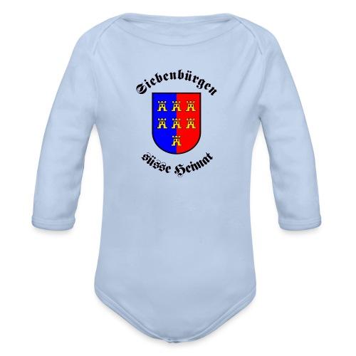 Siebenbürgen suesse Heimat - Wappen der - Baby Bio-Langarm-Body