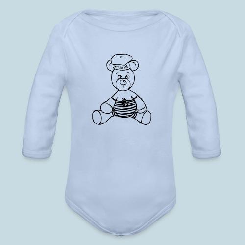 Seebär - Baby Bio-Langarm-Body