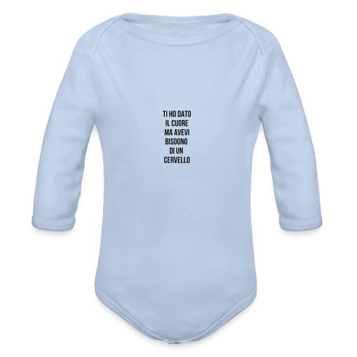 frasi fatte citazioni - Body ecologico per neonato a manica lunga