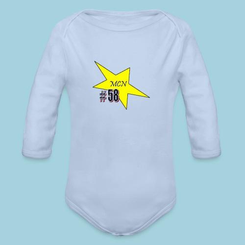 MCN Stern - Baby Bio-Langarm-Body
