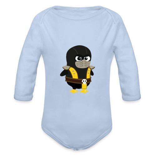 Pingouin Mortal Scorpion - Body Bébé bio manches longues