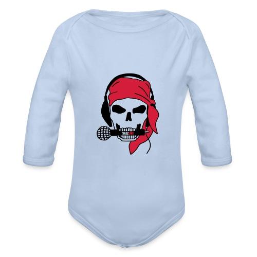 Pirate (par éoline) - Body Bébé bio manches longues