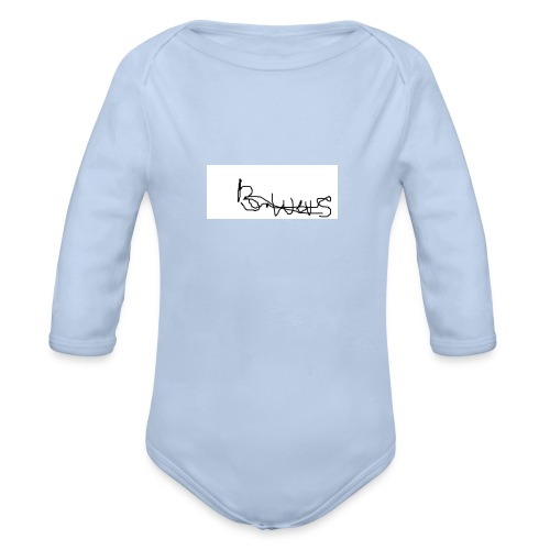new tick range - Organic Longsleeve Baby Bodysuit