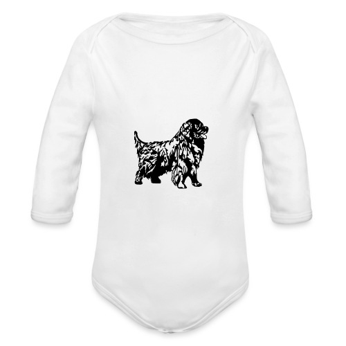 Neufundländer - Baby Bio-Langarm-Body
