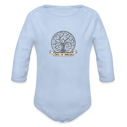 TOS grey tiny 3in png - Organic Longsleeve Baby Bodysuit