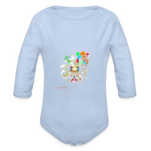 Spagrg00001 - Body orgánico de manga larga para bebé