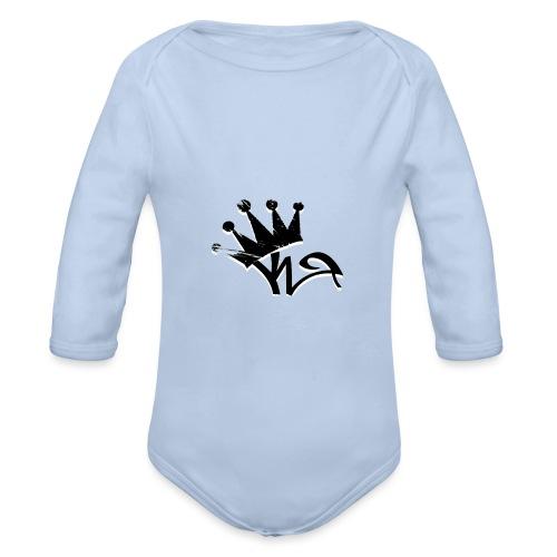 Crown - Organic Longsleeve Baby Bodysuit