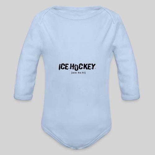 Ice Hockey - Baby Bio-Langarm-Body