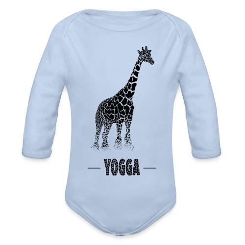 Girafe (H) - Body Bébé bio manches longues