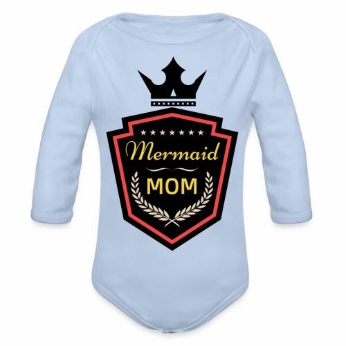 Mermaid Mom - AMDesign - Baby Bio-Langarm-Body