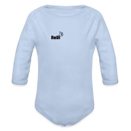 NeBiLOGO - Vauvan pitkähihainen luomu-body