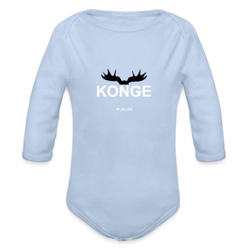 Konge - Økologisk langermet baby-body