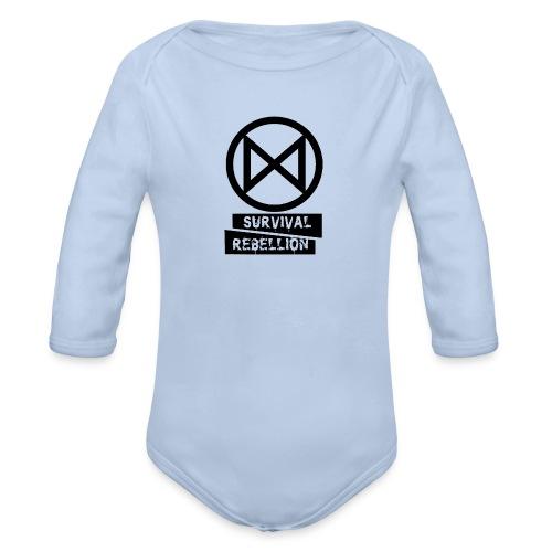 Extinction Rebellion - Body ecologico per neonato a manica lunga